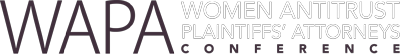 WAPA: Women Antitrust Plaintiffs' Attorneys Logo